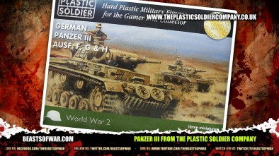 Panzer III from the Plastic Soldier Company