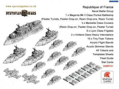 Republique of France Fleet