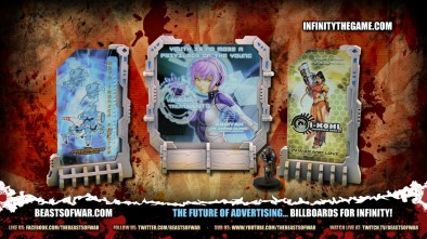 The Future of Advertising... Billboards for Infinity!