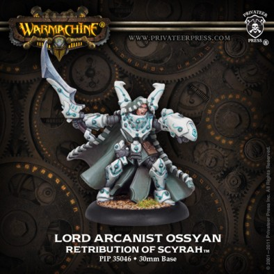 Warmachine - Lord Arcanist Ossyan