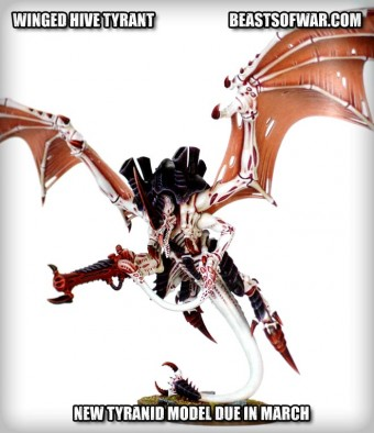 New Winged Hive Tyrant