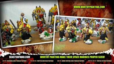 Worthy Painting make their Space Marines Proper Sized!
