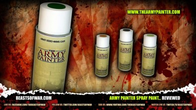 Army Painter Spray Paint... Reviewed