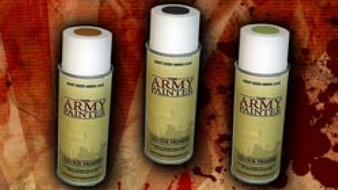 Army Painter Spray Paint… Reviewed