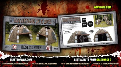 Bestial Huts from Gale Force 9
