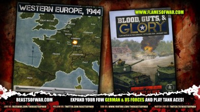 Blood, Guts & Glory... Expand your FoW German & US Forces and play Tank Aces!