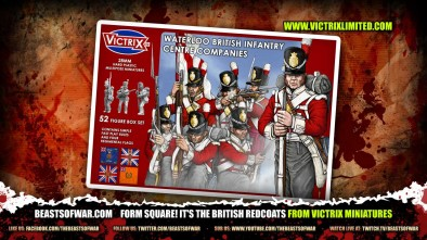 Form Square! It's the British Redcoats from Victrix Miniatures 2