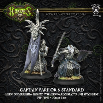 Captain Farilor and Standard
