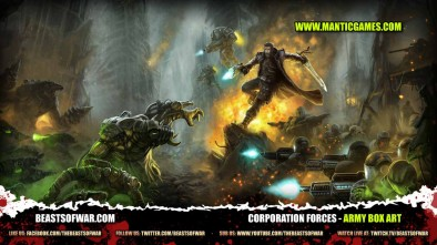 Corporation Forces - Army Box Art
