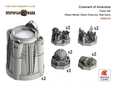 Covenant of Antarctica Tower Set