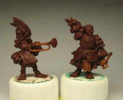 Crossbowman and Musician