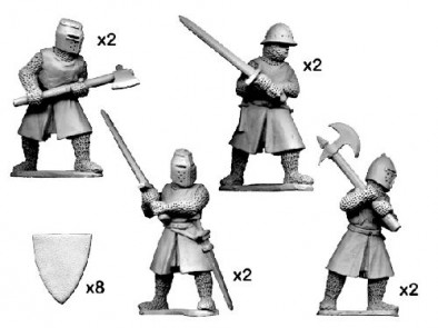 Crusader Miniatures - Knights with Big Weapons