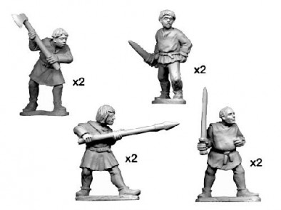 Crusader Miniatures - Peasants and Pilgrims