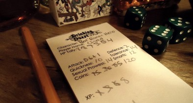 Drinking Quest Character Sheet