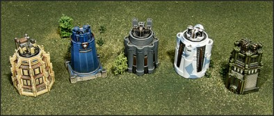 Dystopian Wars Towers