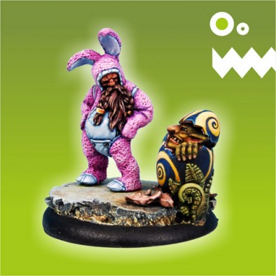 Easter Bunny Dwarf Front