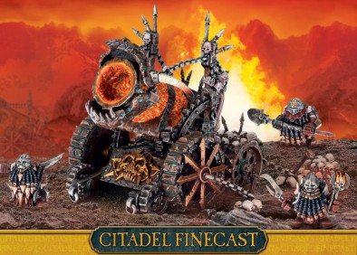 Games Workshop - Finecast Hellcannon