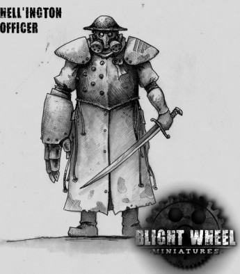 Hell'ington Officer Concept