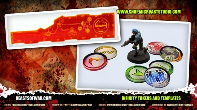 Infinity Tokens and Templates
