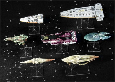 New Firestorm Armada Ships