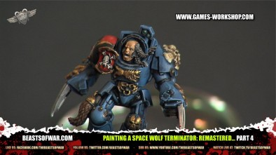 Painting a Space Wolf Terminator: Remastered... part 4
