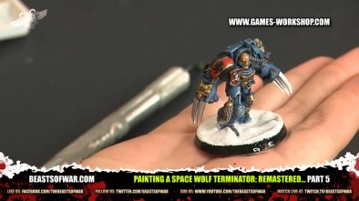 Painting a Space Wolf Terminator: Remastered... part 5