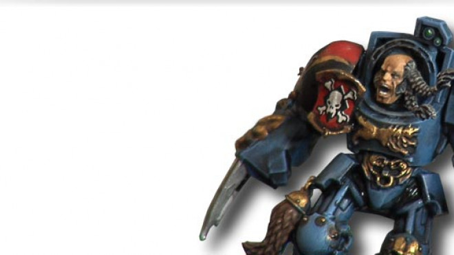 Painting a Space Wolf Terminator: Remastered… part 4