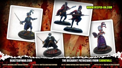 Patricians Starter set for Carnevale