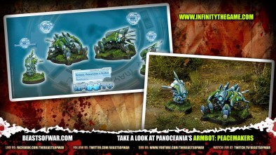 Take a look at PanOceania's Armbot: Peacemakers
