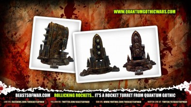 Rollicking Rockets... it's a Rocket Turret from Quantum Gothic