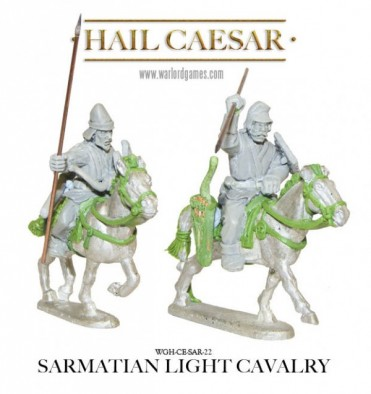 Sarmatian Light Cavalry Detail