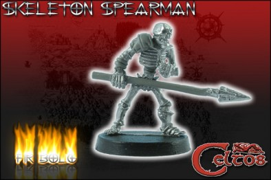 Skeleton Spearman #2