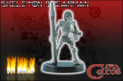 Skeleton Spearman #3