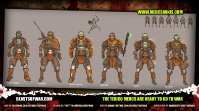 The Texico MERCS Are Ready to Go to War