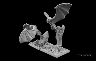 Titan Forge - Vampire Bats Side