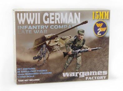 WWII Late German Infantry