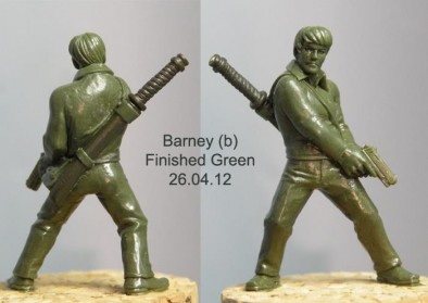Barney Finished Green