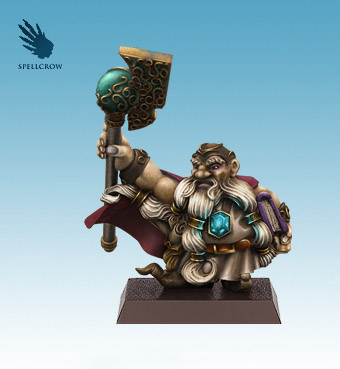 Dwarf Mage Painted