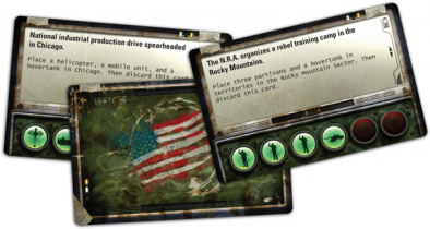 Fantasy Flight Games - Fortress America Cards