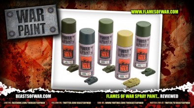 Flames of War Spray Paint... Reviewed