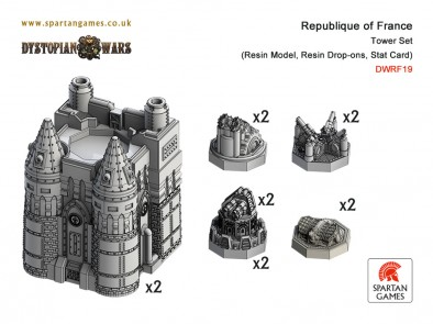French Tower Set