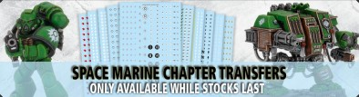 Games Workshop - Chapter Transfers