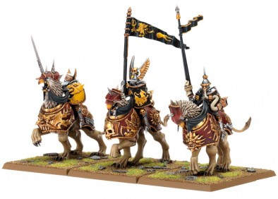 Games Workshop - Empire Demigryph Riders