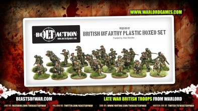 Late War British Troops from Warlord 2
