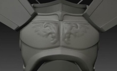 Lord Inquisitor - Sculpting Chest plate