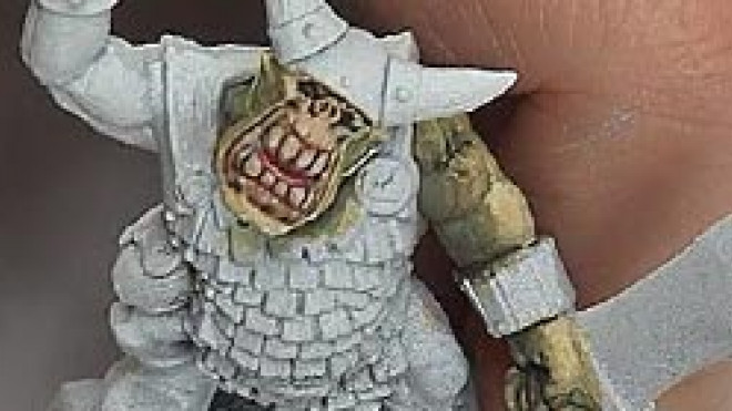 Painting Orc Flesh… part 2