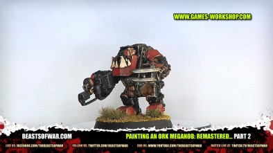 Painting an Ork Meganob: Remastered... part 2
