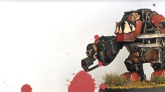 Painting an Ork Meganob: Remastered… part 2