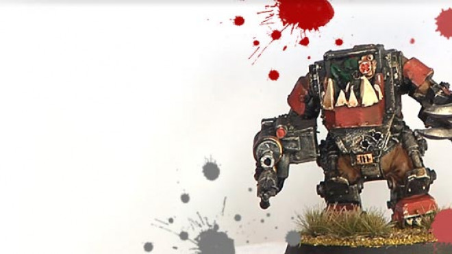 Painting an Ork Meganob: Remastered… part 4