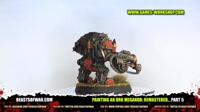 Painting an Ork Meganob: Remastered... part 5